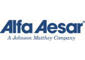 نمایندگی فروش محصولات شرکت Alfa Aesar آلفا ایسر